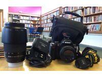 Nikon D60 + 2 lenses only £160 ONO