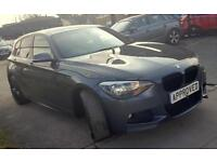 BMW 1 SERIES 2.0 118D M SPORT 5d AUTO 141 BHP SHADOW EDITION REPLICA SHADOW EDITION REPLICA! 2014
