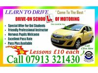 DRIVING LESSONS LUTON DISTRICT ONLY