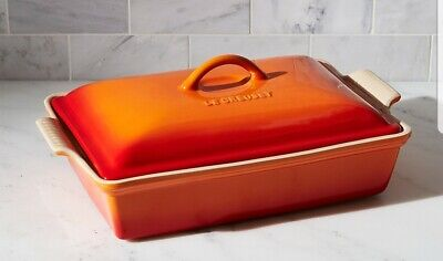 Le Creuset covered 4qt baking dish