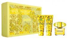 Set - Versace Yellow Diamond 50ml Edt Spr + 50ml B/L + 50ml S/G (Hard Box)