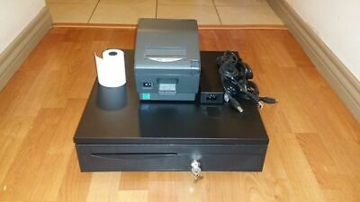 Square Stand Bundle Star Tsp743iiu Usb Receipt Printer Cash Drawer Combo
