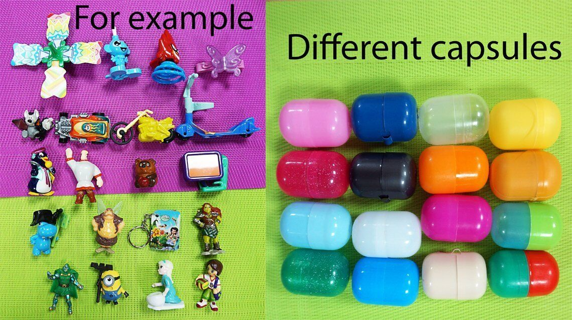 30 KINDER SURPRISE EGGS TOYS EUROPE MIXED FREE SHIPPING WORLDWIDE 1