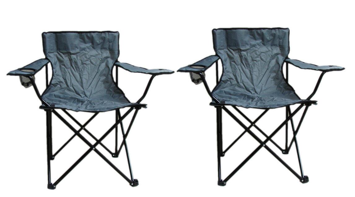 2 x Faltstuhl Klappstuhl Angelstuhl Stuhl Campingstuhl Regiestuhl Anglerstühle 2
