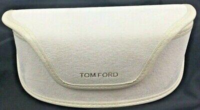 Tom Ford White Soft Sided Velvet Glasses Sunglasses (Tom Ford Glasses Case)