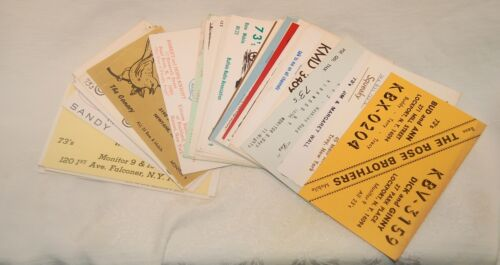 Vintage CB Radio Ham QSL Cards, Lot of 50 from New York, See photos, Ships FREE