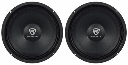"Rockville RM88PRO 8"" 8 Ohm 600 Watt SPL Midrange Mid-Bass"