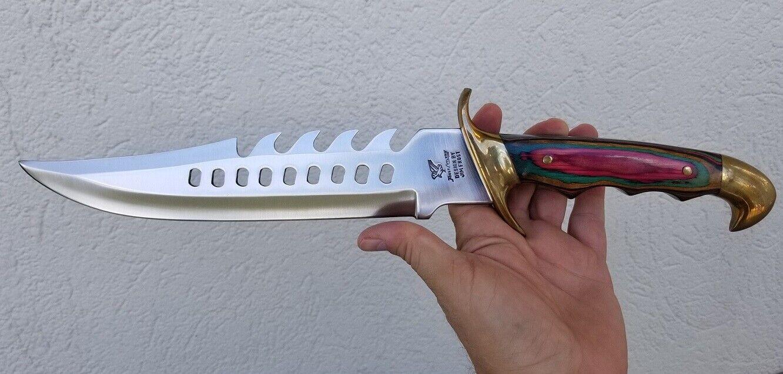 undertaker warrior bowie knife w sheath 16