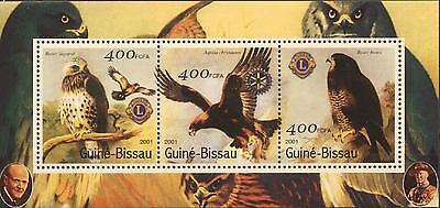 206547 BIRDS, BIRD OF PREY, GUINEA-BISSAU