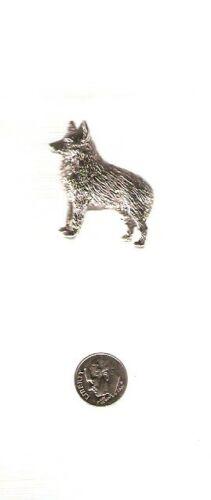 Schipperke Nickel Silver Brooch Pin Jewelry LAST ONE!*