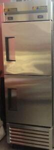 TRUE HALF FREEZER AND HALF REFRIGERATOR - ALMOST NEW -