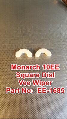 Monarch Tailstock 10ee Square Dial Metal Lathe Part Ee-1685 Felt Vee Wiper Set