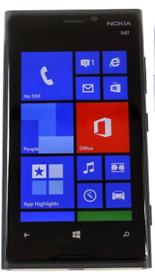 Nokia Lumia 920 phone with Windows 10 installed