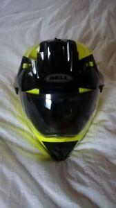 Motorcycle Adventure helmet for sale, used one season