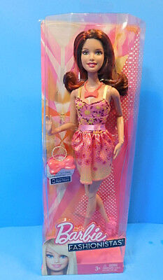 Barbie Fashionistas Doll Teresa With App And Purse For Extended Digital Play