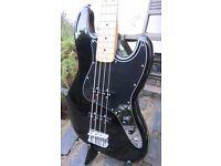 Fender Jazz Bass MIM (2015/16) + Fender Custom Shop 60s Pickups