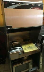 Well Ventless hood - 4 open burners - excellent condition