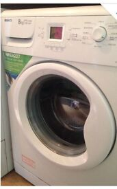 Great condition BEKO 8kg A+A class 1200 spin speed washing machine. Only selling due to moving home.