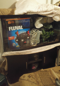 90 Gallon Aquarium and Stand