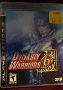 Dynasty Warriors 6 and Dynasty Warriors 7 for the PS3