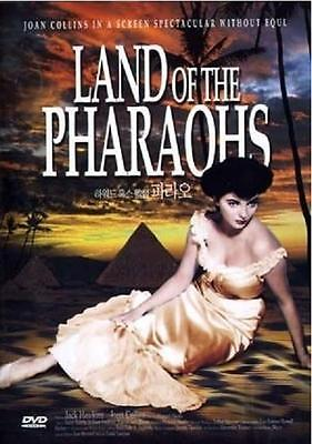 LAND OF THE PHARAOHS (1955) DVD - Joan Collins (New & Sealed)