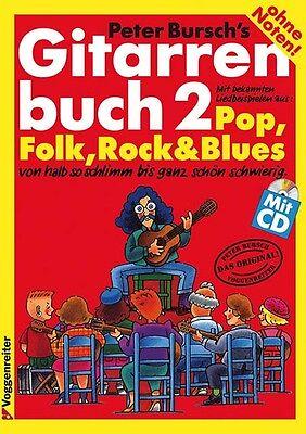 GITARRENBUCH 2 + CD  v.Peter Bursch+3 Pics - PORTOFREI!