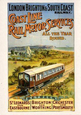 London Brighton South Coast Railway Rail Motor