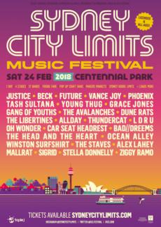 x1 Syd City Limits ticket - $160 ONO