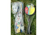 Badminton sets x 2