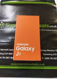 SAMSUNG GALAXY J7 - UNLOCKED - BRAND NEW