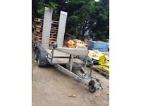 Plant trailer (for mini Digger/scissor lift) IForwilliams
