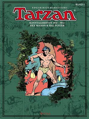 Tarzan Sonntagsseiten, BOCOLA Verlag, Band 1, 1931 - 1932, Hal Foster