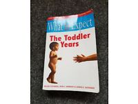 "What to Expect ""The Toddler Years"" book"