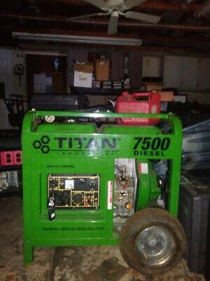 Titan Generator Diesel