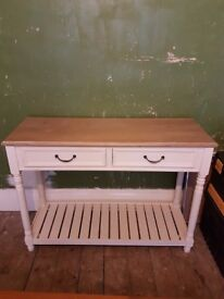 Shabby chic Hall Console Table