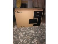 Acer 27 Inch Monitor