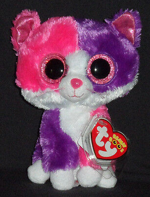 TY BEANIE BOOS - PELLIE the CAT (CLAIRE'S EXCLUSIVE) - MINT with MINT TAG