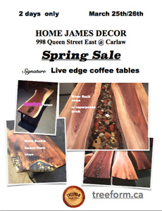 LIVE EDGE SALE up to 50% off select products