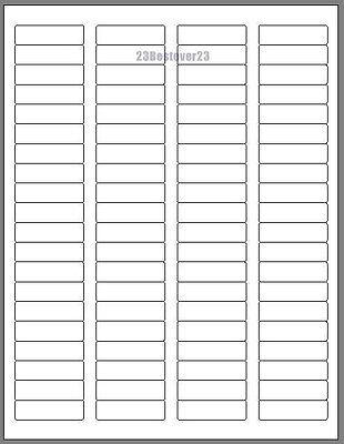 800 Blank 1 34 X 12 White Address Mail Laser Labels