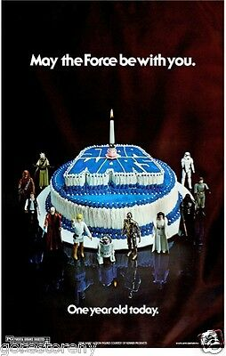 STAR WARS Movie Poster Birthday Cake