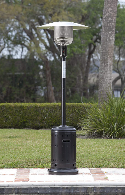 Commercial Propane 46,000 BTU, Outdoor Patio Heater with Whe