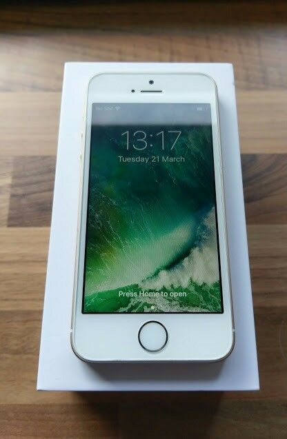 APPLE IPHONE SE 32GB (GOLD) - LOCKED TO EE - APPLE WARRANTY SEPT 2018