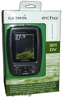 Garmin Echo 301Dv Hd Id Color Fishfinder   Transducer
