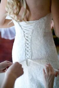 Maggie Sottero *Lorie* Wedding Dress and Veil for SALE! London Ontario image 5