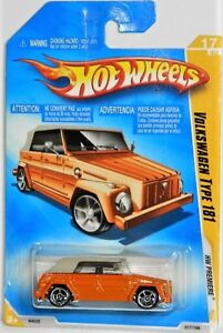 Hot Wheels 1/64 Volkswagen Type 181 Diecast Car