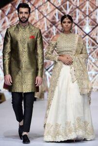 LatestPakistani/Men WeddingSherwanis, wasitcoats& Party Suits