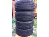 "BMW X3 X4 20"" Genuine alloy wheels with Pirelli Pzero Run Flat tyres - Style 311"