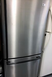 Stainless Steel Fridge Bottom Mount Warranty & Delivery Avail