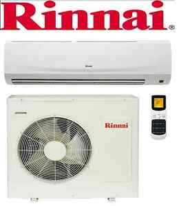 RINNAI S SERIES SPLIT SYSTEM AIR CONDITIONERS - 4 SIZES AVAILABLE Benowa Gold Coast City Preview