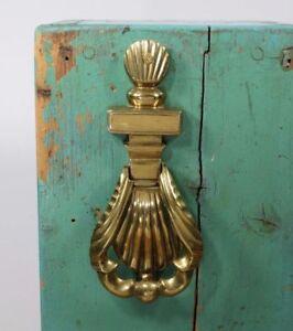 Vintage Solid Brass Shell Shaped Door Knocker